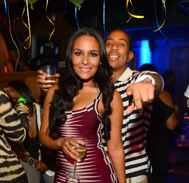 Ludacris' Throws Girlfriend Eudoxie A Surprise Birthday With Monica, Letoya Luckett, + Other Celebs