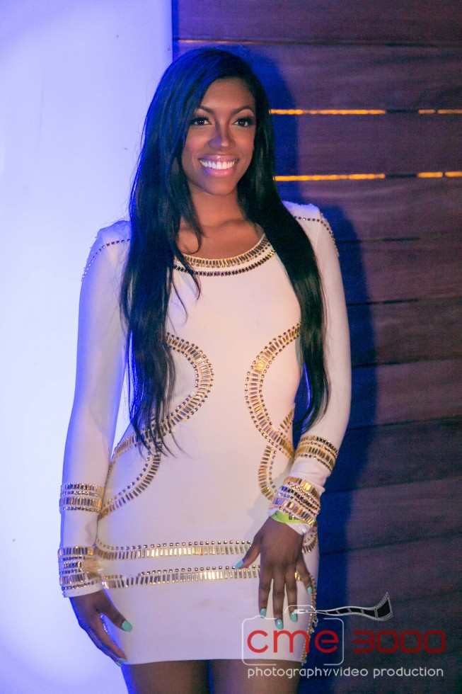 PORSHA STEWART-PRIVE GRAND OPENING-TREY SONGS-white party-the jasmine brand