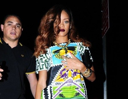 Spotted.Stalked.Scene. Sherri Shepherd Hits GMA, Rihanna's Strappy Shoe Game Hits NYC +  ASAP Rocky & Swizzy Kick It