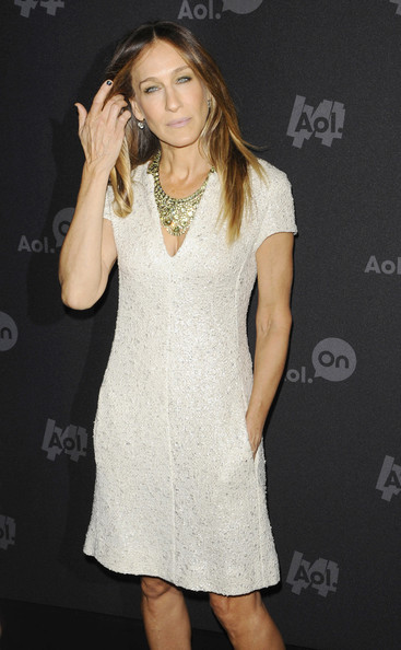 Sarah- Jesscia-Parker-Attends-AOL-Event-The-Jasmine-Brand