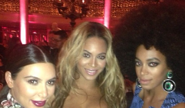 [Photos] Met Gala Left-Overs: Kim Kardashian, Chanel Iman, Chris Brown Get Instagram Happy