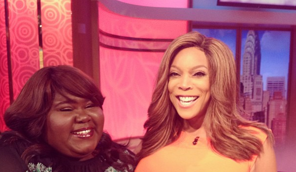 Gabby Sidibe Visits Wendy Williams, Gabrielle Union Caught Filming 'Think Like A Man 2' + More Celeb Stalking