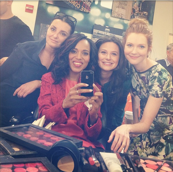 [Photos] 'Scandal' Cast Ends Season With a Promo Bang! Instagram Take-Over Included.