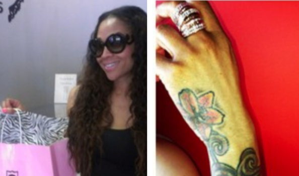 Spotted.Stalked.Scene: Mimi Faust Shows Off Her Tatt, Montana Fishburne Shops For Undies + More Celeb Stalking