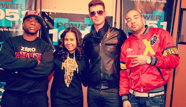 [WATCH] Robin Thicke Clears The Air On Why He Quit 'Real Husbands of Hollywood'