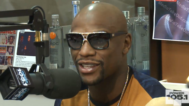 [VIDEO] Floyd Mayweather Addresses Feud With 50 Cent, 'Sometimes People Don't See Eye-to-Eye'