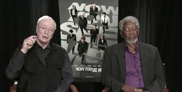[WATCH] Morgan Freeman Falls Asleep Mid Interview