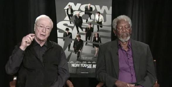 [WATCH] Morgan Freeman Falls Asleep Mid Interview