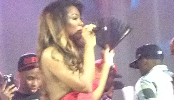 [WATCH] Kenya Moore Parties In DC For Gay Pride, Performs 'Gone With the Wind Fabulous'