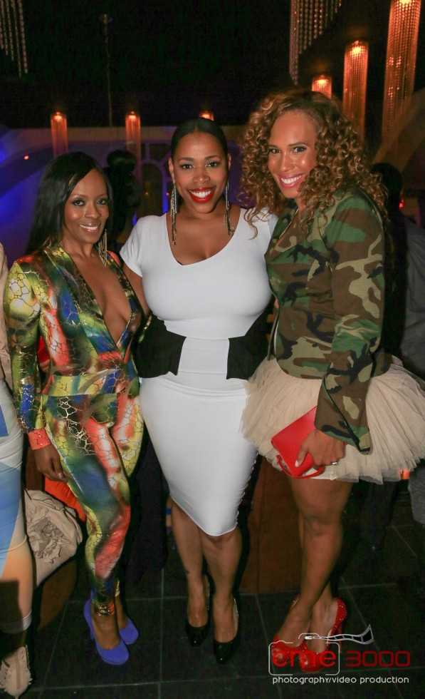 Stacii Jae Johnson-Nicci Gilbert-Chanita Foster-R&B Divas-season 2 premiere party-the jasmine brand