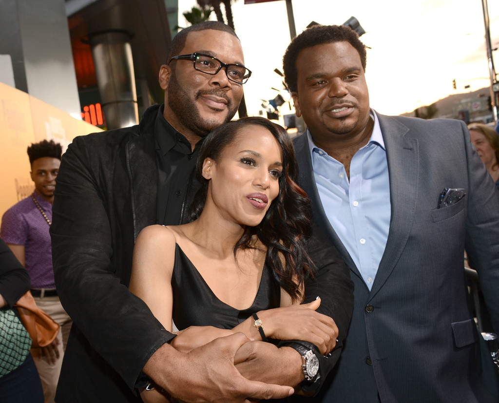 Kerry Washington, Tyler Perry, Craig Robinson + Other ...