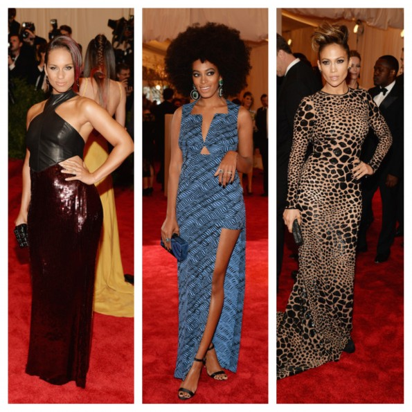 alicia keys-solange knowles-jennifer lopez-MET gala 2013-the jasmine brand