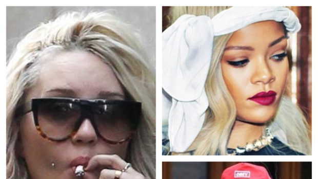 Amanda Bynes Denies Bashing Rihanna On Twitter, But Questions Why It's Okay for Rihanna To Smoke Weed On Twitter