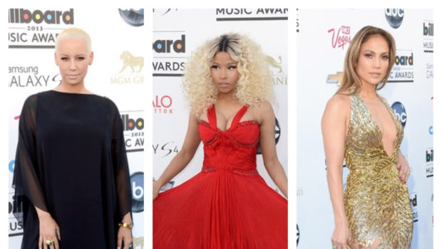 [Photos] Nicki Minaj, Chris Brown, J.Lo & Celebs Take Over the Billboard Music Awards Blue Carpet