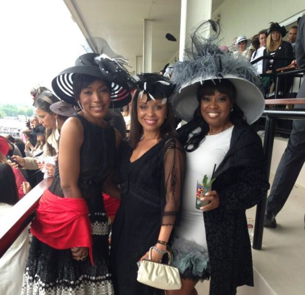 [Photos] Big Hats, Big Fashion & Celebs Take Over Kentucky Derby: Star Jones, Angela Bassett & Scottie Pippen