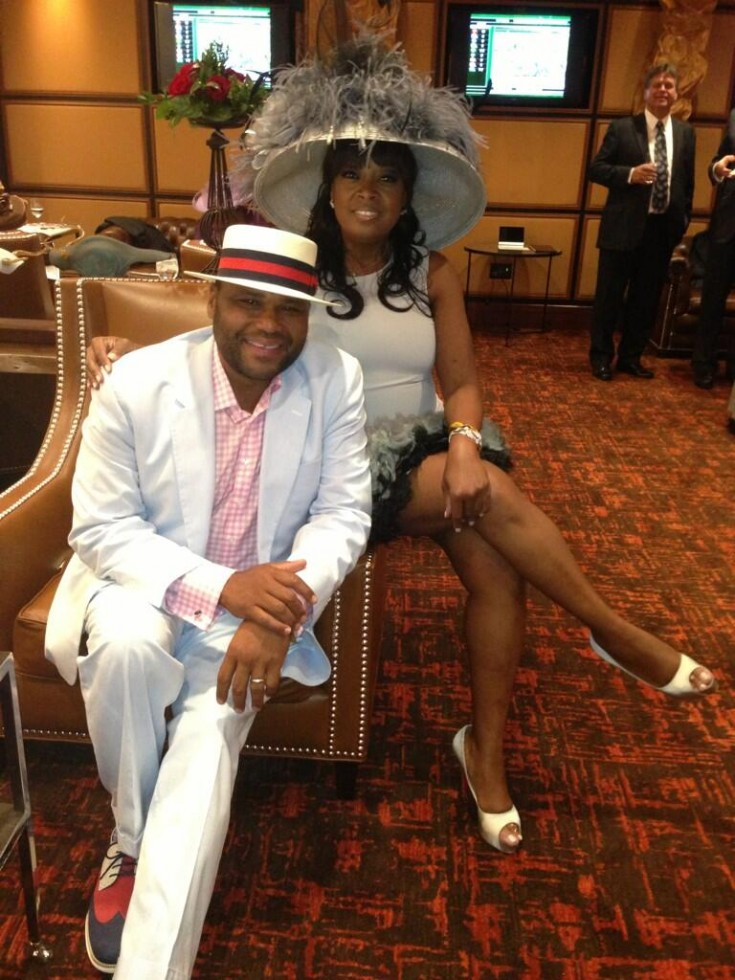 anthony anderson-star jones-kentucky derby-the jasmine brand
