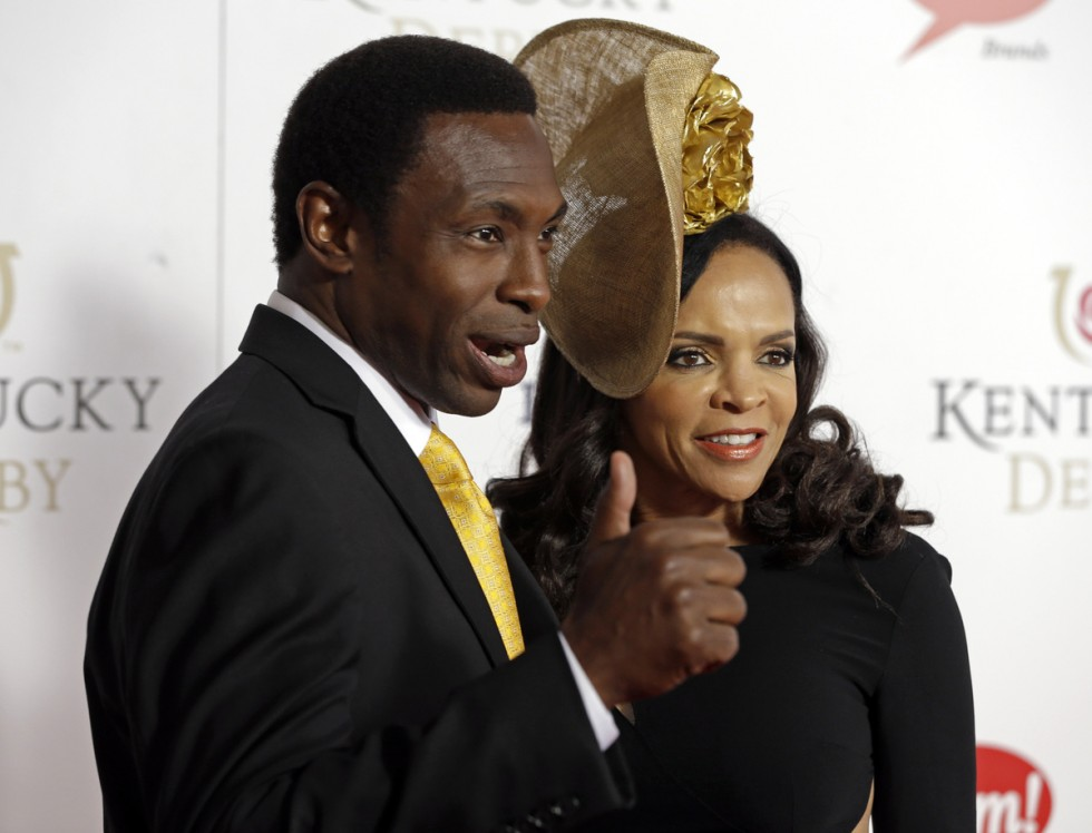 avery johnson-wife cassandra-kentucky derby 2013-the jasmine brand