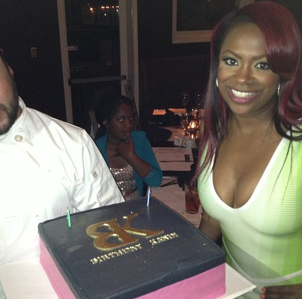 birthday cake-real housewives of atlanta-kandi burruss birthday dinner 2013-the jasmine brand