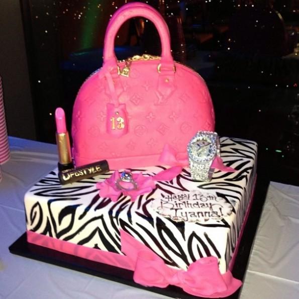 cake-floyd mayweather-daughter iyanna 13th birthday party-vegas-the jasmine brand