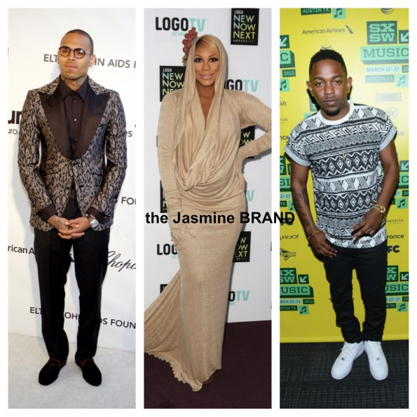 chris brown-tamar braxton-kendrick lamar-bet awards press conference 2013-the jasmine brand