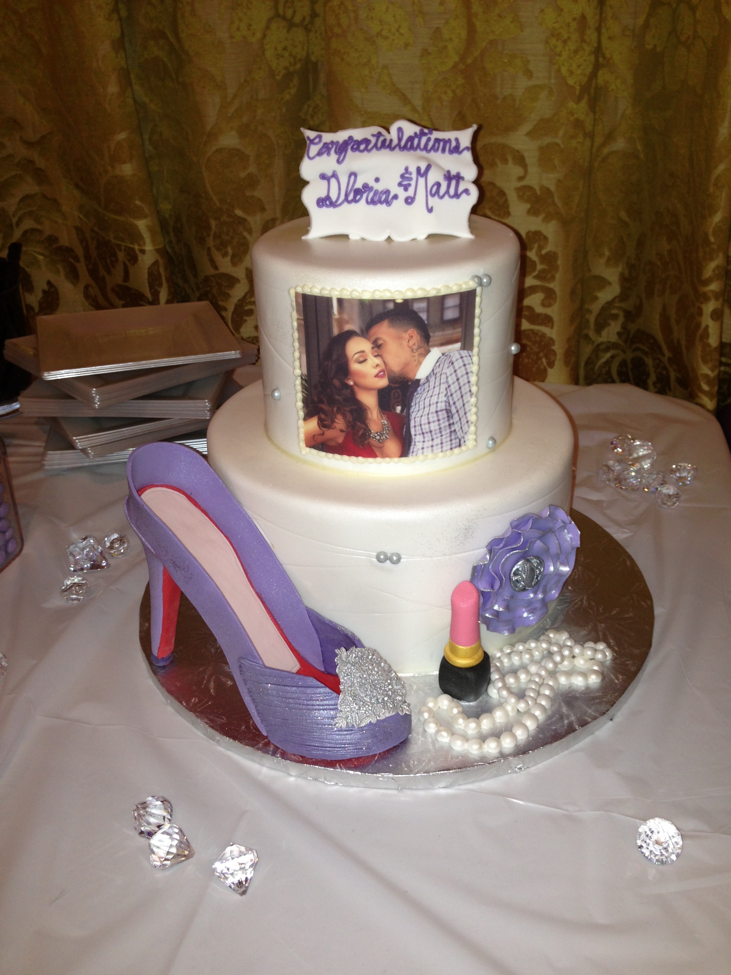 Its Never Too Late For A Bridal Shower Chris Pauls Wife Jada Paul