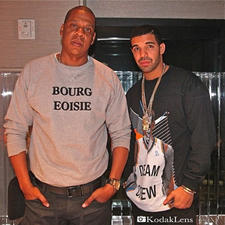 Jay-Z Kicks It With Drake, Rihanna Impersonates Marilyn Monroe + Jamie Foxx's Daughter Inspires New TV Show 'Dad, Stop Embarrassing Me'