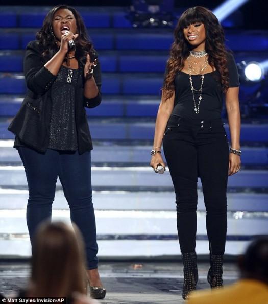 jennifer hudson-candace glover-american idol duo-the jasmine brand
