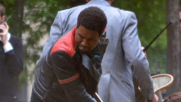 [Photos] Kanye West Gets Physical During 'Anchorman' Filming + Rohan Marley Will Step Up Co-Parenting During Lauryn Hill's Prison Stint