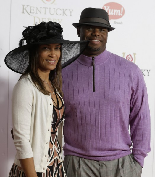 ken griffey-wife melissa-kentucky derby 2013-the jasmine brand