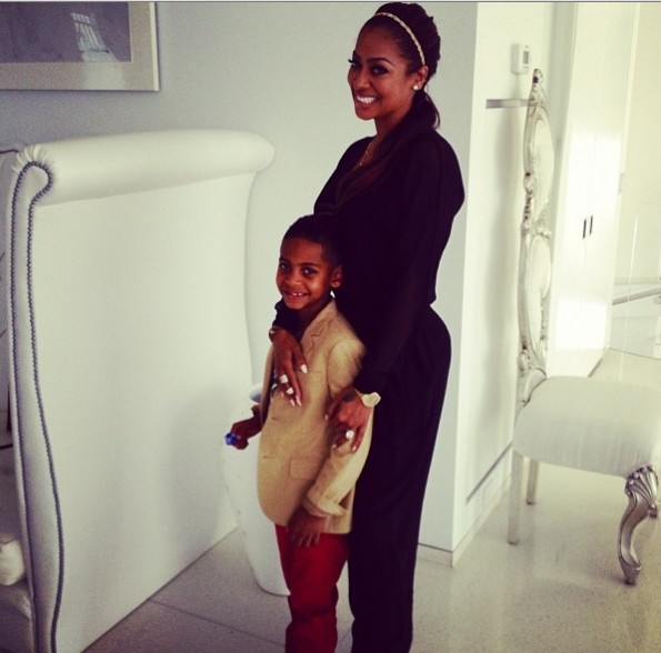 lala anthony-celebrities-mothers day 2013-the jasmine brand