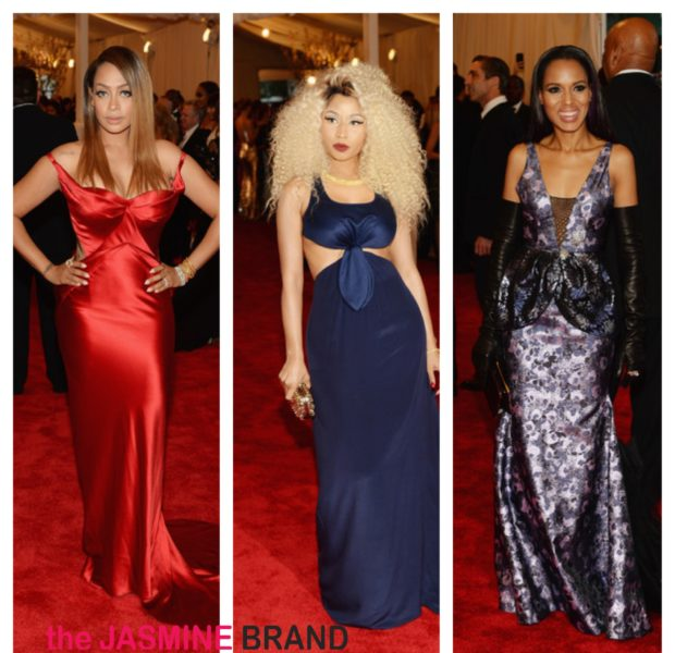 Big Hair, Big Gowns & Baby Bumps Take Over Met Gala: Kim Kardashian, Nicki Minaj, Beyonce & More Pretty Faces