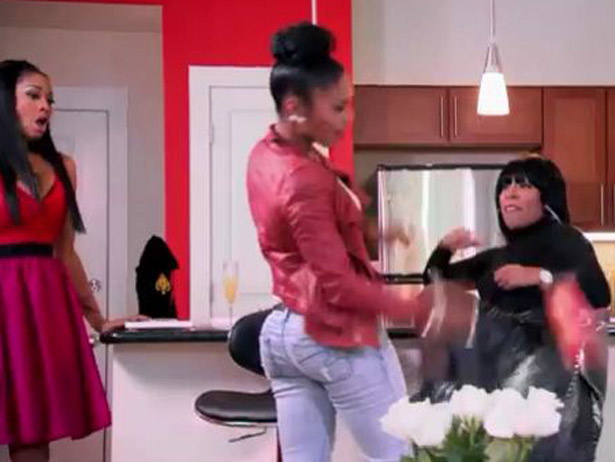 K Michelle And Rasheeda 2013 And in lighter TV news