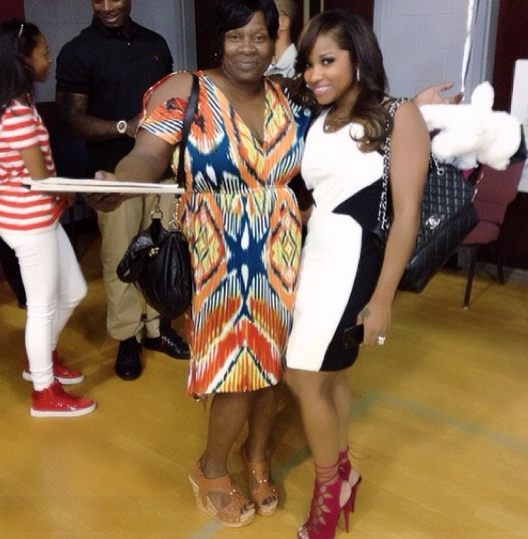 lil waynes mother-toya wright-reginae graduation-the jasmine brand