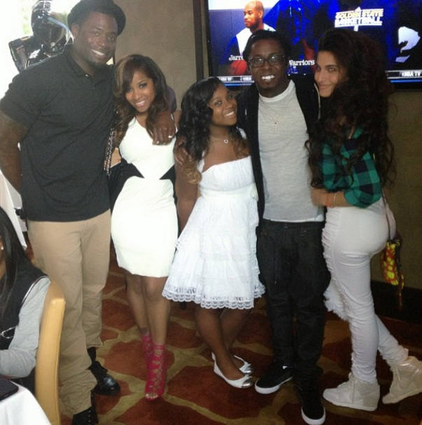 memphitz-toya wright-lil waynes girlfriend-reginae graduation-the jasmine brand