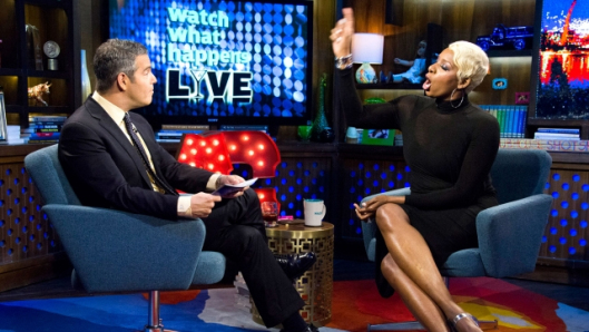 nene leakes-one one one-with andy cohen-watch what happens live-the jasmine brand