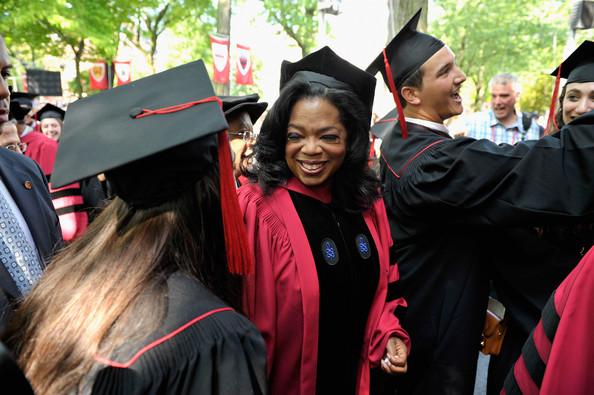 oprah winfrey-receives honorary degree harvard-the jasmine brand