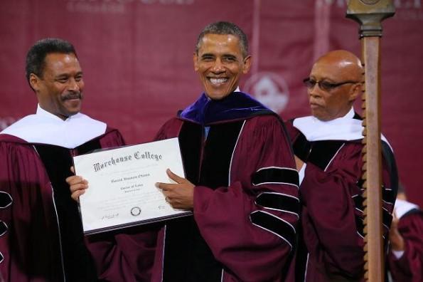 president obama-commencement-speaks morehouse-the jasmine brand
