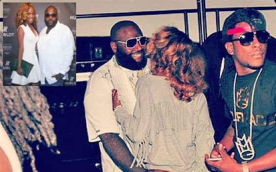 Ear Hustlin: Have Rick Ross & Designer Girlfriend Shateria Broken Up?