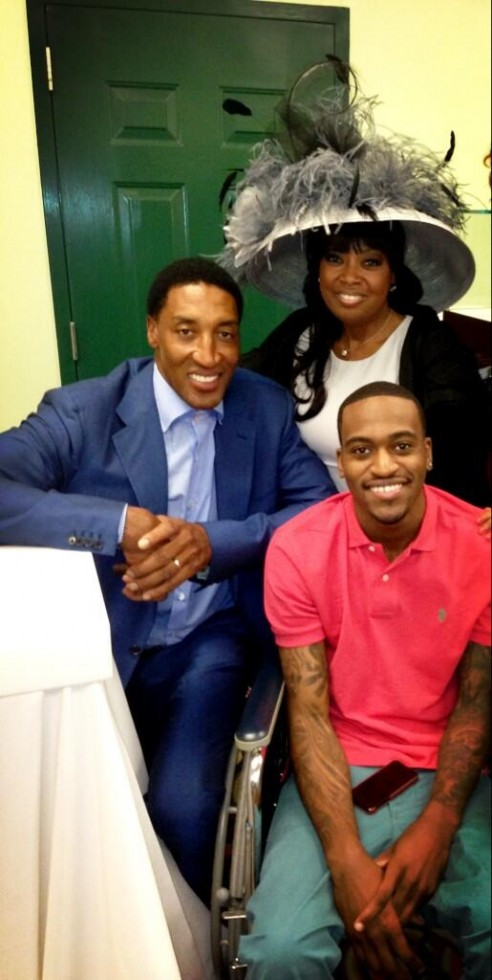 scottie pippen-star jones-kentucky derby-the jasmine brand