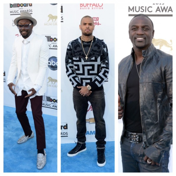 will I Am-chris brown-akon-billboard music awards 2013-the jasmine brand