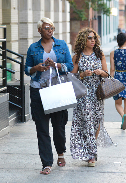 Nene-Leakes-Shopping-NYC -2013-The-Jasmine-Brand