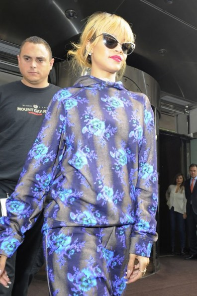 RIhanna-Christopher-Kane-FLoral-Pants-Suit-2013-The-Jasmine-Brand