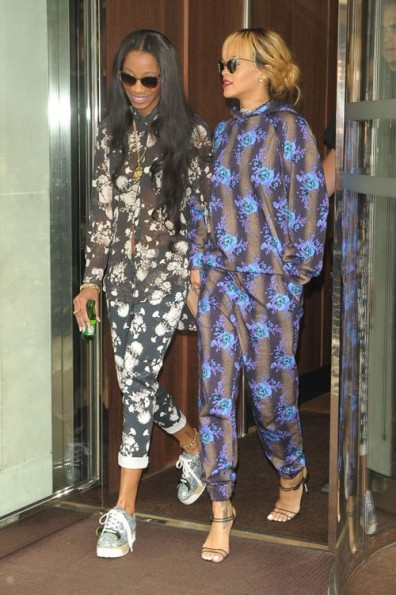 Rihanna-Floral-Pants-Set-2013-The-Jasmine-brand