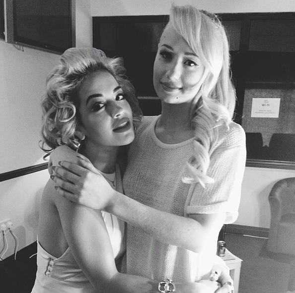 Rita-Ora-Iggy-Azaela-Backstage-Chime-For-Change-2013-The-Jasmine-Brand