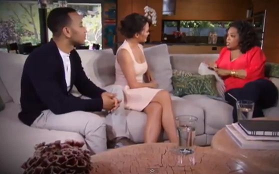 [WATCH] John Legend & Fiance Chrissy Teigen Discuss Cheating Allegations Oprah's 'Next Chapter'