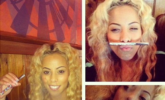 [Photos] Puff, Puff, Pass. Love & Hip Hop's Kaylin Garcia Launches Hookah Line
