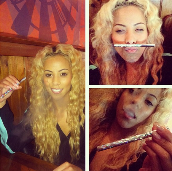 [Photos] Puff, Puff, Pass. Love & Hip Hop's Kaylin Garcia Launches Hookah Line