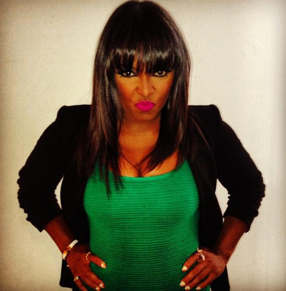 Keshia-Knight-Pulliam-Green-Dress-2013-The-Jasmine-Brand