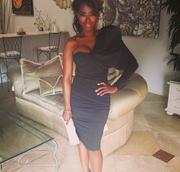 Quoting The Late Notorious B.I.G., RHOA's Kenya Moore Address Eviction Rumors