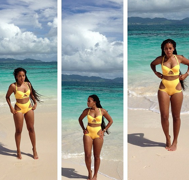 [Photos] Angela Simmons Mixes Business With Pleasure In Anguilla: Kicks It With the Kiddies & Goes Beachin'